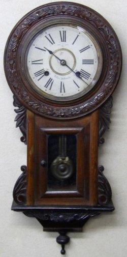 画像1: 林時計・明治後期から大正にかけての【ひまわり時計】