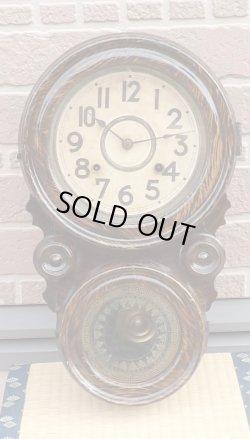 画像1: 精工舎・だるま時計・明治から大正にかけて・八日まき掛け時計