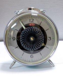 画像1: ミステリアスダイヤルのベル付き目覚まし【セイコーコロナタイプ】1970年代