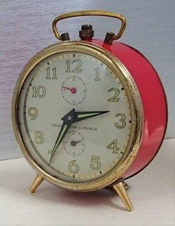 画像1: セイコー・コロナ・昭和30年代から昭和40年代のベル付き目覚まし・手巻き一日巻き