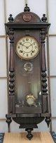 高野時計・スリゲル型長尺・擬宝珠もついています。明治時代・八日巻掛