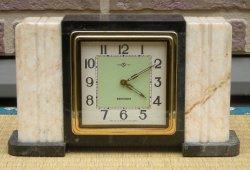 画像1: セイコー舎・大理石 昭和30年代置き時計